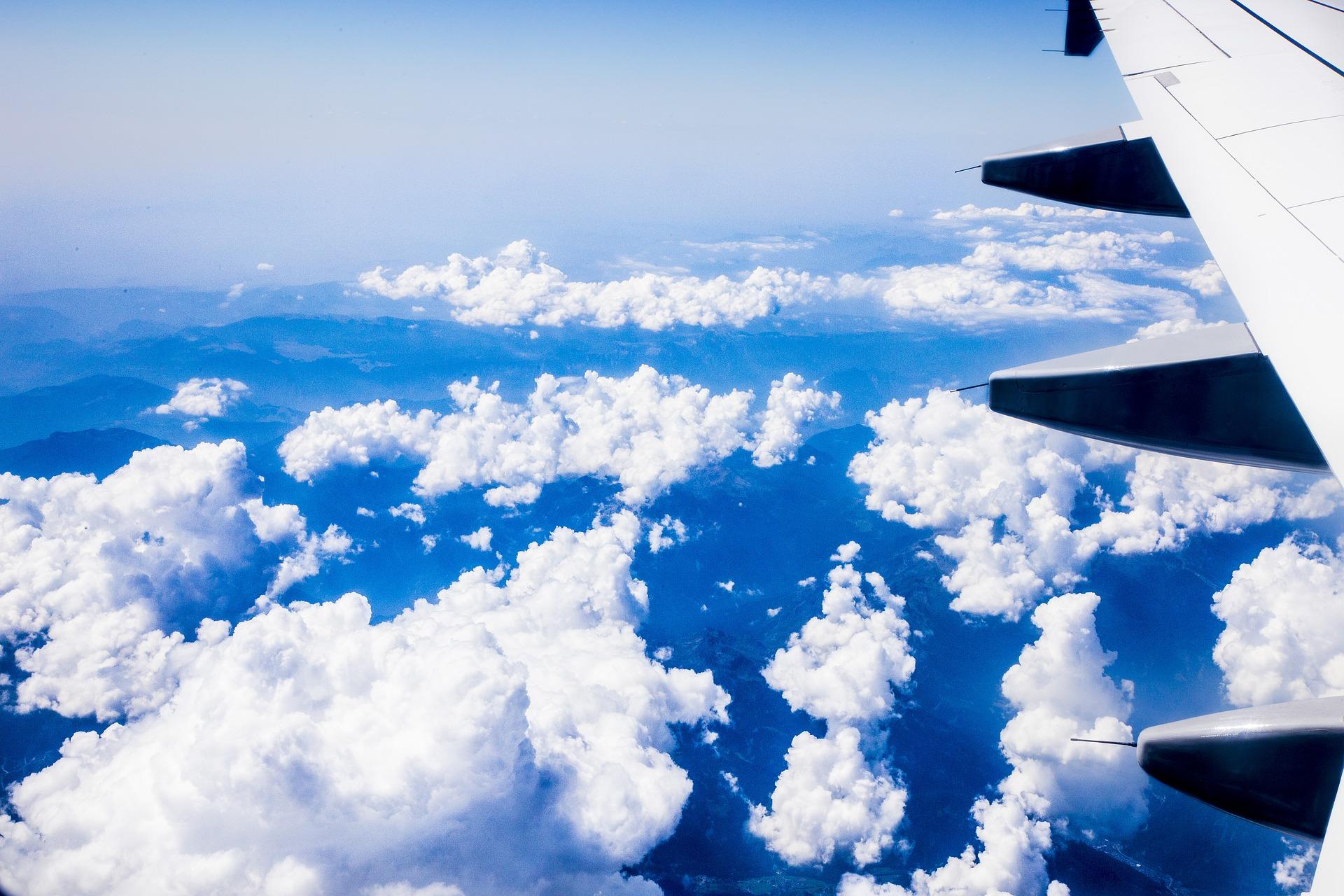 дело человек в небе фото с самолета парке острове