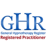 Logo for Registered Practitioner with the General Hypnotherapy Register