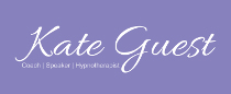 Logo for this website - Kate Guest, Coach, Speaker and Hypnotherapist